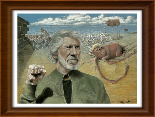 Pigs/Portrait of Roger Waters